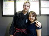 Un Français enseigne les arts martiaux aux enfants handicapés