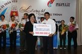 Près de 5 milliards de dôngs au programme «Pour les élèves à Truong Sa»