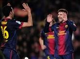Le Barça marche sur l'eau, l'Atletico marque le pas à Majorque