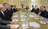 François Hollande met l'accent sur la coopération avec Singapour