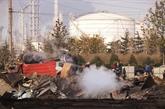 Explosion d'un oléoduc en Chine
