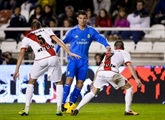 Football/Championnat d'Espagne : l'attaque du Real bat le Rayo, sa défense tremble