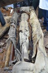 Une momie de 300 ans découverte à Hanoi