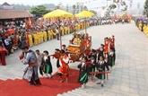Ouverture de la fête de Tây Thiên à Vinh Phuc