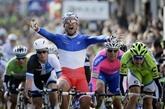 Paris-Nice : le champion de France, Nacer Bouhanni remporte la 1re étape