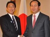 Le ministre de la Police au Japon