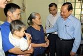 Hô Chi Minh-Ville : les autorités assistent les pauvres et les foyers démunis