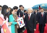 Nguyên Phu Trong débute ses activités en R. de Corée