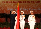 Meeting en l'honneur du 60e anniversaire de la libération de Hanoi