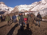 Vérification des informations sur des citoyens disparus dans l'Himalaya