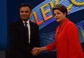 Brésil : Rousseff devance Neves de 4 à 6 points à la veille de la présidentielle