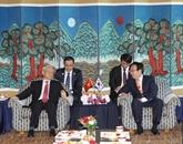 Nguyên Phu Trong visite la ville portuaire Pusan