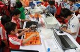 Robotique : Hanoi remporte l'épreuve «niveau avancé» du championnat Robothon Vietnam