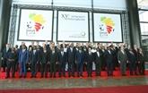 Ouverture du XVe Sommet de la Francophonie à Dakar