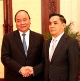 Le vice-Premier ministre Nguyên Xuân Phuc en visite au Laos
