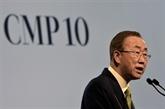 Ban Ki-moon appelle les négociateurs à être à la hauteur de l'enjeu climatique