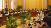 Le bureau présidentiel annonce cinq lois