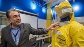 États-Unis : à l'essai, une nouvelle combinaison anti-Ebola offre plus de sécurité