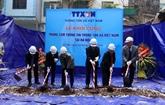 Agence Vietnamienne d'Information : mise en chantier du Centre d'information à Hanoi