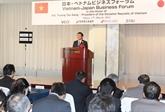 Activités du chef de l'État vietnamien au Japon