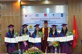 Quinze étudiants reçoivent des diplômes francophones en droit international et comparé des affaires