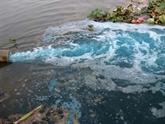 Nécessité d'un cadre juridique sur le contrôle de la pollution de l'eau
