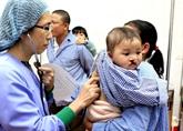 Opérations gratuites pour les enfants malformés