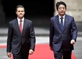 Le Premier ministre japonais commence au Mexique une tournée en Amérique latine
