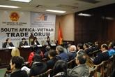 Perspective des relations commerciales Vietnam - Afrique du Sud