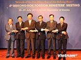 Le Vietnam à la 4e Conférence ministérielle République de Corée - Mékong