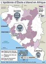 L'inquiétude face à Ebola grandit dans le monde