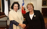 La vice-présidente de l'Assemblée nationale vietnamienne se rend au Chili