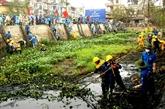 Mobilisation générale pour sauver les plans d'eau de Hanoi