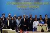 Rencontre entre les États-Unis, le Japon et la R. de Corée au Myanmar