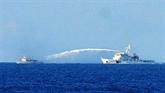 Demande du retrait de la plate-forme chinoise de la zone maritime du Vietnam