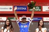 Tour d'Espagne: Bouhanni récidive, le vent joue avec les nerfs