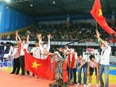 Le Vietnam, champion du concours Robocon Asie-Pacifique 2014