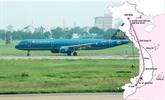 Étude de la ligne Hanoi-HCM-V via l'espace aérien cambodgien et lao