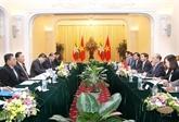 Entretien Nguyên Sinh Hùng - Thura U Shwe Mann