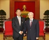Le chef du PCV reçoit le président du Parlement birman