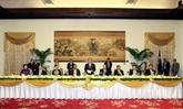 Le président du Parlement national du Myanmar visite Hô Chi Minh-Ville