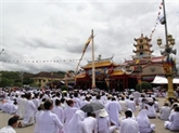 Tây Ninh : fête Diêu Tri au Saint-Siège du caodaïsme