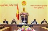 Ouverture de la 42e session du Comité permanent de l'Assemblée nationale