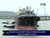 Un navire singapourien de 50.000 tonnes mouille au port en eau profonde de Nghi Son