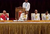 Le gouvernement du Myanmar signe un accord avec huit groupes armés