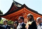 Le PM français entame son voyage au Japon par une journée très culturelle