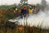 L'Indonésie accepte l'aide internationale pour combattre les incendies