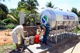 Alimentation en eau courante, une priorité pour Hô Chi Minh-Ville