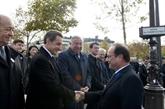François Hollande préside les cérémonies de commémorations de l'armistice