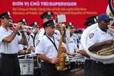 Ouverture du 20e Gala international de la musique de la police